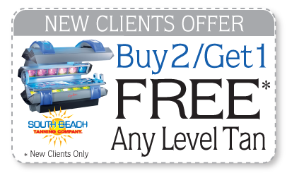 Buy2/Get1 Free Any Level Tan