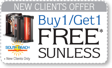 New Clients Offer. Buy 1 and Get 1 Free Sunless. * New Clients Only
