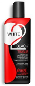 White 2 Black: Tingle Ultra Fast, Darkening Tingle Lotion