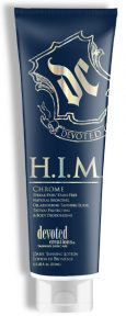 H.I.M. Chrome Streak-Free / Stain-Free Natural Bronzing, Oil Absorbing Tanning Elixir 