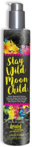 Stay Wild Moon Child™ Moon Beams & Tie-Dye Dreams Deep Dark Bronzer Ultimate levels of DHA, Natural & Cosmetic Bronzers deliver a deep, dark delayed and immediate bronzed result. Packed with Vitamins A & C to fight free radical damage and boost collagen production. Reduces toxins while adding superior hydration as well as anti-inflammatory and anti-aging benefits.