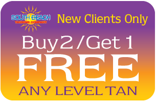 Buy1/Get1 Free Any Level Tan