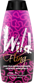 Wild Fling™ Fierce Color Crushing Black Bronzers For Intensely Untamed Results TIt's no secret that you want color worth raving about, that's why we know you will instantly fall in lust with Wild Fling!™ This Beyond Bold Black bronzer will hydrate and condition the skin as well as give you that catwalk color you have been craving! Blended with Antioxidants and skin tightening ingredients,